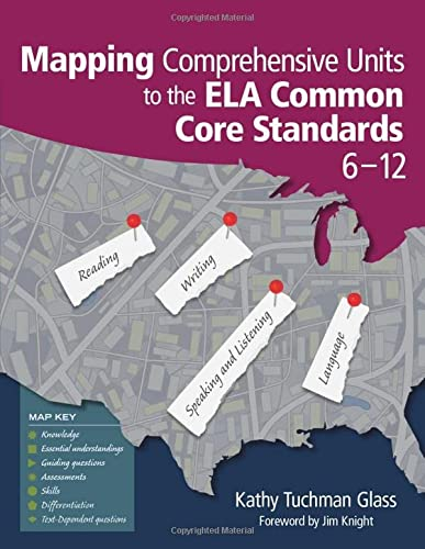 9781452268620: Mapping Comprehensive Units to the ELA Common Core Standards, 6–12
