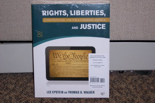 Constitutional Law for a Changing America: Rights,: Lee Epstein and