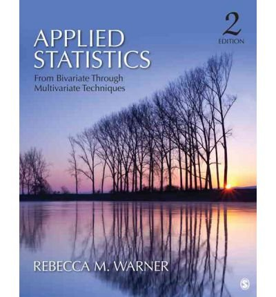 9781452280202: BUNDLE: Warner: Applied Statistics 2e + White: Do The Math!