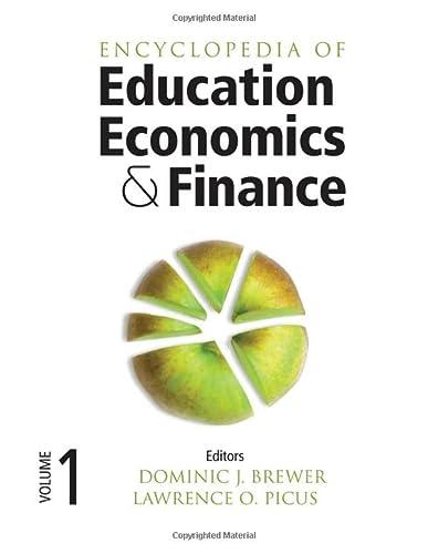9781452281858: Encyclopedia of Education Economics and Finance