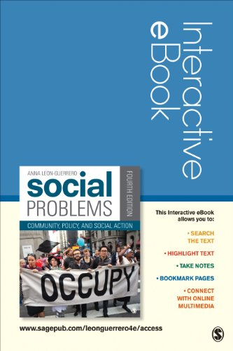 9781452282121: Social Problems Interactive eBook: Community, Policy, and Social Action