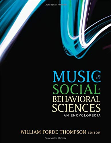 9781452283036: Music in the Social and Behavioral Sciences: An Encyclopedia