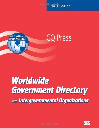Worldwide Government Directory with Intergovernmental Organizations (Paperback)