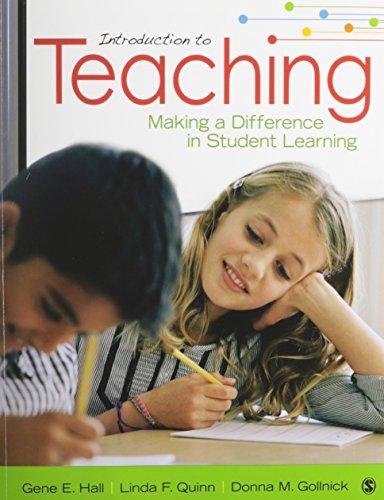 9781452299778: BUNDLE: Hall: Introduction to Teaching + Hall: Introduction to Teaching Interactive eBook