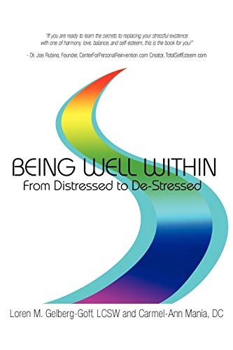 9781452540986: Being Well Within: From Distressed to De-Stressed