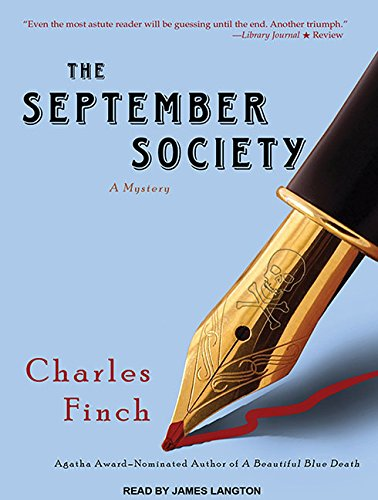 9781452604558: The September Society (Charles Lenox Mysteries)