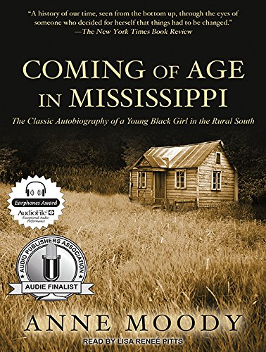 Coming of Age in Mississippi (Library Edition): Anne Moody