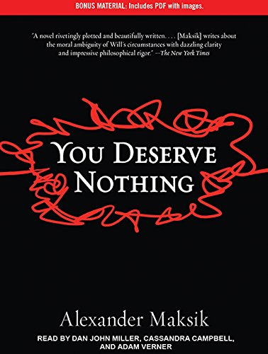 You Deserve Nothing Includes Pdf With Images By Maksik Alexander