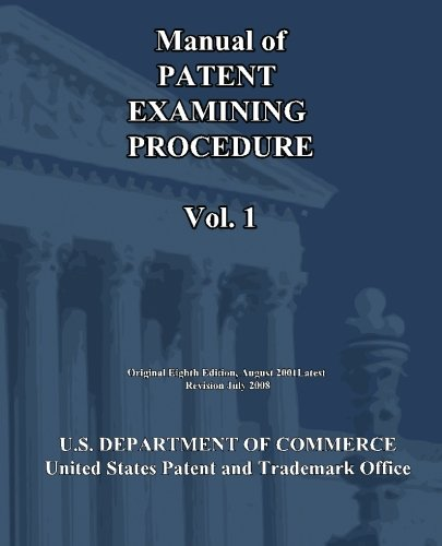 9781452800479: Manual of Patent Examining Procedure (Vol.1)