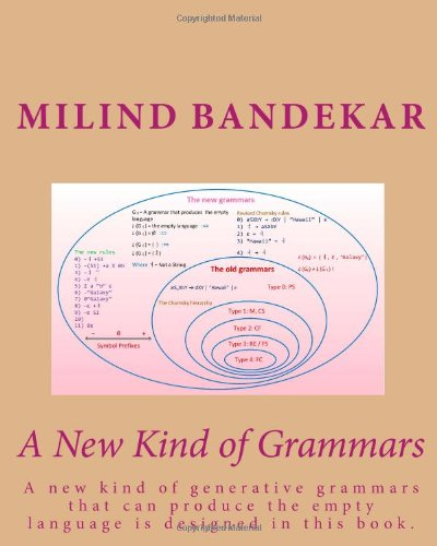 9781452828688: A New Kind of Grammars: A new kind of generative grammars that can produce the empty language is designed in this book.