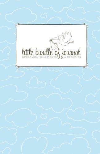 9781452831787: Little Bundle of Journal: Memoranda, Milestones and Memories for Boys