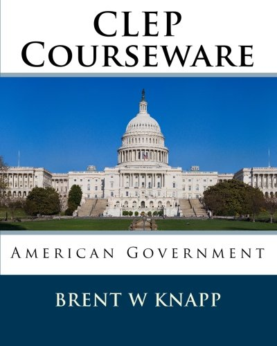 9781452833026: CLEP Courseware: American Government