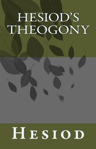 9781452836409: Hesiod's Theogony