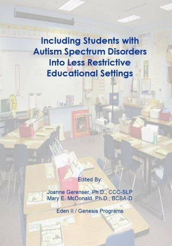 9781452849416: Including Students with Autism Spectrum Disorders into Less Restrictive Educational Settings