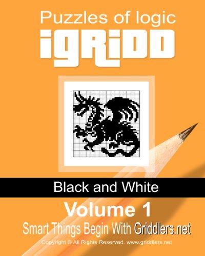 9781452851280: iGridd: Puzzles of Logic- Black and White, Vol. 1