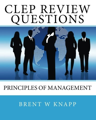 9781452874937: CLEP Review Questions - Principles of Management