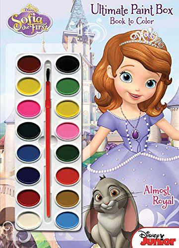 9781453011997: Disney Junior - Sofia the First - Princess in Training: Ultimate Paint Box Book to Color