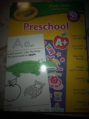 9781453013311: Crayola Basic Skills Activity Book Preschool