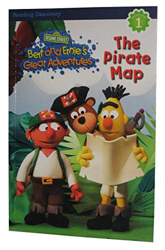 "Sesame Street Bert and Ernie's Great Adventures ""The Pirate Map"" Level 1"