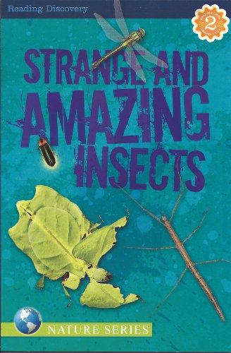 Strange and Amazing Insects Reading Discovery Level