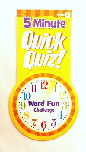 9781453056424: 5 Minute Quick Quiz for Grade 2 (Word Fun Challenge) Softcover