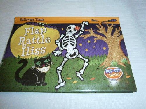 9781453058244: FLAP RATTLE HISS (POP-UP Board Book) (Halloween Treats)