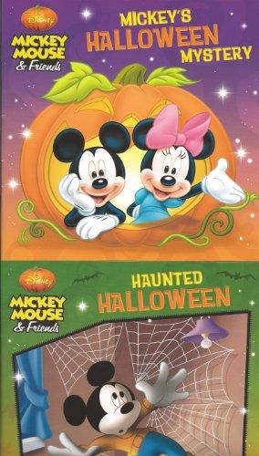 9781453058947: Mickey Mouse & Friends Halloween 2 Book Set (Haunted Halloween & Halloween Mystery)