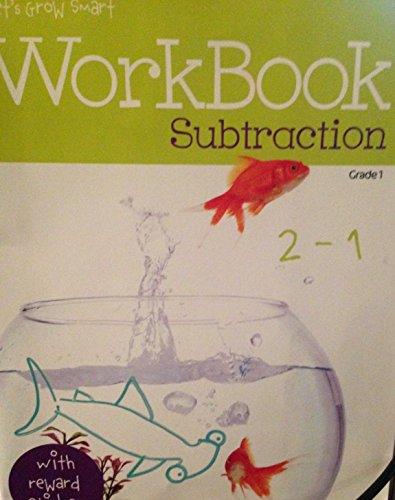 Workbook Subtraction Grade 1: A+ Let's Grow
