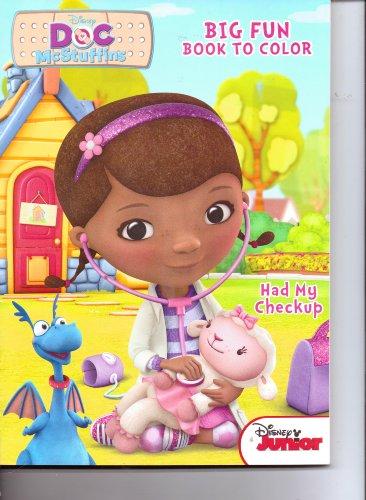 9781453068731: Doc McStuffins Big Fun Book to Color ~ Had My Checkup
