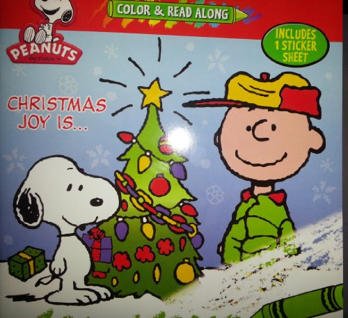Peanuts Color & Read Along with Stickers: n/a