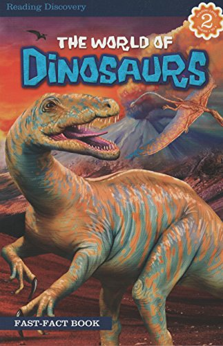 9781453079379: The World of Dinosaurs Fast-Fact Book Level Reader 2 Ages 6-9