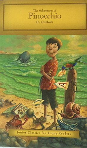 9781453089095: The Adventures of Pinocchio by C. Collodi (Junior Classics for Young Readers)
