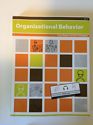 Organizational behavior 1.1: Bauer, Talya