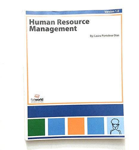 9781453319437: Human Resource Management (Version 1.0)