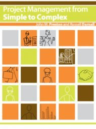 9781453327043: Project Management from Simple to Complex