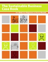 9781453346778: The Sustainable Business Case Book