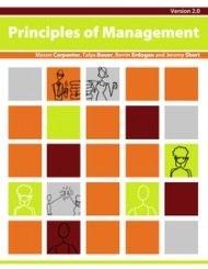 9781453354476: Principles of Management, v. 2.0