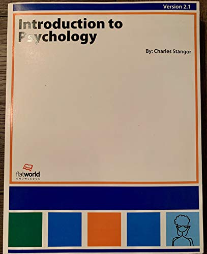 9781453365748: Introduction to Psychology