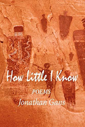 How Little I Know: Jonathan Gans