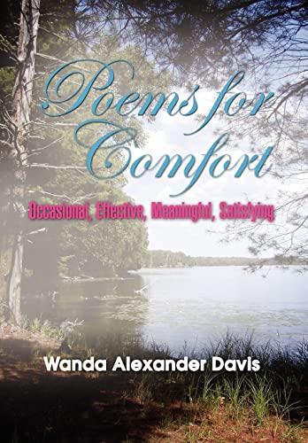 Poems for Comfort: Wanda Alexander Davis