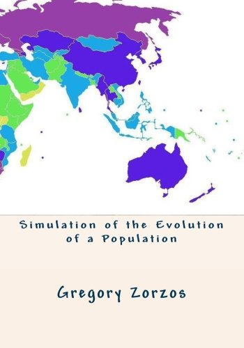 9781453626597: Simulation of the Evolution of a Population: 1