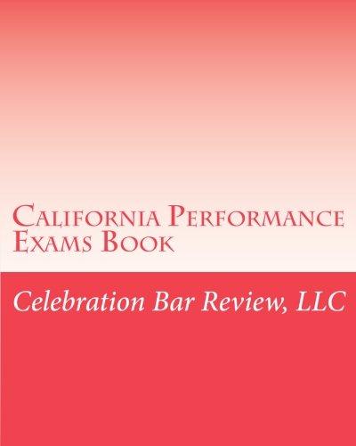 California Performance Exams Book
