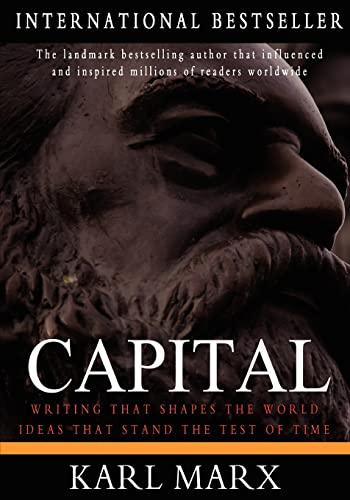 9781453716540: Capital: A Critique of Political Economy, Vol. 1