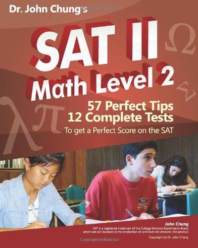 9781453726457: Dr. John Chung's SAT II Math Level 2: SAT II Subject Test - Math 2 (Dr. John Chung's Math Book Series)