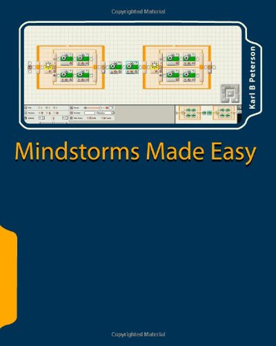 9781453747353: Mindstorms Made Easy: beginning lessons on programming in NXT-G