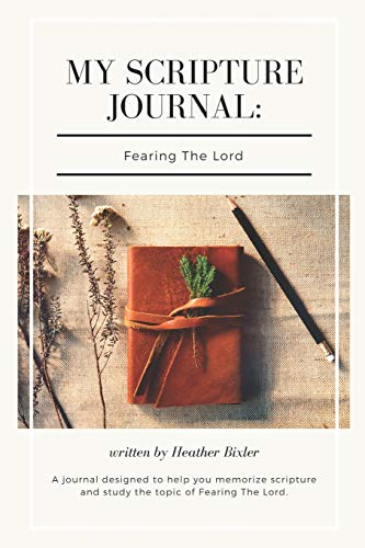 9781453753798: My Scripture Journal: Fearing the Lord