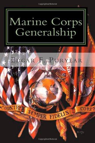 9781453758908: Marine Corps Generalship