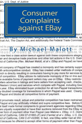 9781453787304: Consumer Complaints against EBay: The Best of over a Million Consumer Complaints against EBay