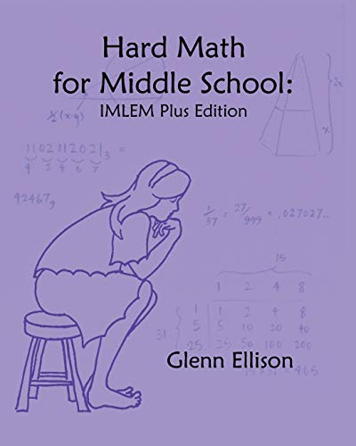9781453814451: Hard Math for Middle School: IMLEM Plus Edition