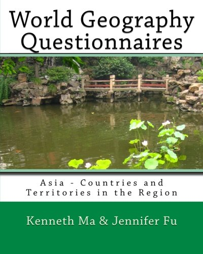 9781453831984: World Geography Questionnaires: Asia - Countries and Territories in the Region